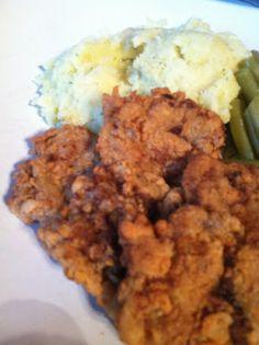Chicken fried venison!