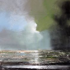 """Sea Light"" , acrylic on panel by Toni Grote"