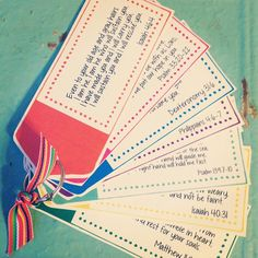 Encouragement Scripture Cards by SweetBlessingsbyS on Etsy
