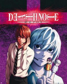Poster Death Note Light et Near