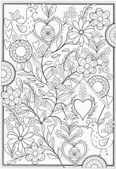 Scandinavian Coloring Book Pg 60