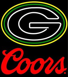 Green Bay Packer Flashing Rolling Rock Neon Sign, Rolling Rock with NFL Neon Signs Green Bay Packers Helmet, Go Packers, Neon Signs For Sale, Custom Neon Signs, Sports Signs, Miller High Life, Texas Tech Red Raiders, Neon Light Signs, Beer Signs