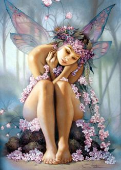 Find images and videos about beautiful, art and fantasy on We Heart It - the app to get lost in what you love. Fairy Dust, Fairy Land, Fairy Tales, Forest Fairy, Foto Fantasy, Fantasy Kunst, Magical Creatures, Fantasy Creatures, Fairies Photos