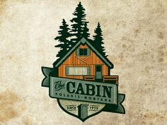 Designspiration — Dribbble - The Cabin by Jerron Ames