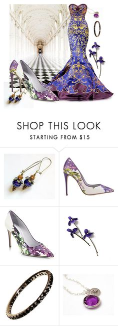 """""""Bejeweled"""" by treasury ❤ liked on Polyvore featuring Oxford, Dolce&Gabbana, New, sunflower, Nikush and crazy4etsy"""