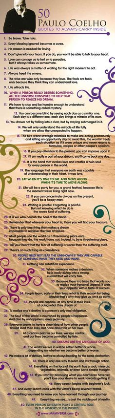 I want to print this and hang it in my room! <3 Paulo Coelho