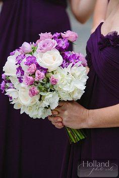 Holland Photo Arts; Sparkling Washington, DC Wedding from EVOKE - photo: Holland Photo Arts; bridesmaid bouquet