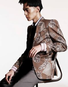 xiaotian tang photos 002 Xiaotian Tang Makes a Luxe Fashion Statement for Esquire China
