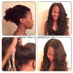 Natalie Jost Birdsong Amazing Before After Flawless Sew Ins By
