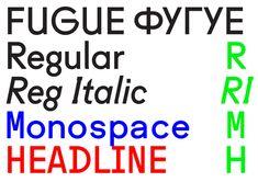 Fugue by Radim Peško, RP Digital Type Foundry, 2010