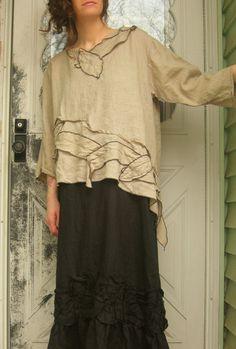 Vines shirt, cool skirt too!