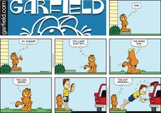 Garfield Comic Strip, September 04, 2016     on GoComics.com