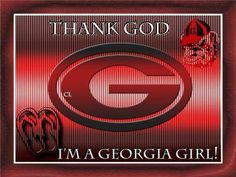 i cldnt c it any other way! GA girl 4 life!