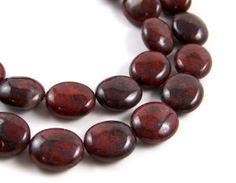 Hey, I found this really awesome Etsy listing at https://www.etsy.com/listing/78621409/poppy-jasper-brecciated-gemstone-beads