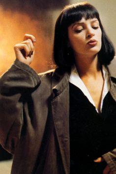 "Uma Thurman in ""Pulp Fiction"" (1994)"
