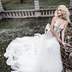 Traumhaftes Couture Designer Brautkleid. Fishtail Mermaid Tüll Trend 2018 www.tianvantastique.com