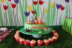 Ben & Holly's Little Kingdom Cake - Chickens, Coops & Cakes