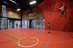 idis turato overlaps old and new with krk sports hall + square idis turato überlappt alt und neu mit krk sports hall + square Cool Playgrounds, Big Sheds, Gym Center, Indoor Gym, Eco City, Sport Park, Gym Room, Sports Complex, Gymnasium