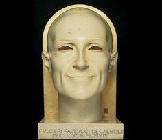 ADOLFO WILDT  Fulcieri Paulucci de' Calboli  1924 (primo esemplare del 1919) - marmo con dorature, 61,2 x 42 x 31,3 cm  Forlì, Musei Civici