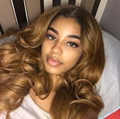 Brunette Balayage for Thick Hair - 50 Cute Long Layered Haircuts with Bangs 2019 - The Trending Hairstyle Black Girls Hairstyles, Pretty Hairstyles, Hair Inspo, Hair Inspiration, Inspo Cheveux, Curly Hair Styles, Natural Hair Styles, Natural Beauty, Hair Laid