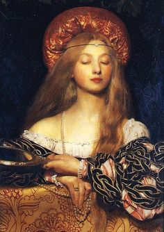 Vanity by Frank Cadogan Cowper. This painting was Cowper's diploma work for the Royal Academy.