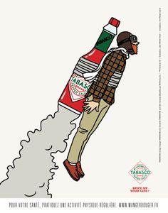 Tabasco advertising on Behance