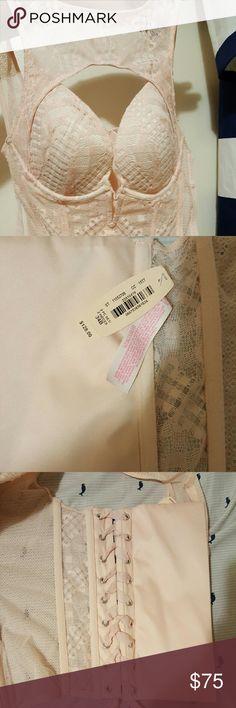 Victoria secret brand New Corset ???? Brand New Pink Victoria Secret 34B Corset .Never Ever worn .Will consider offers 🤗 Victoria's Secret Intimates & Sleepwear