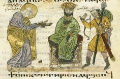 Joseph of Arimathia reclaims the body of the Christ Coptic Gospel, Damietta, Egypt, 1179-80