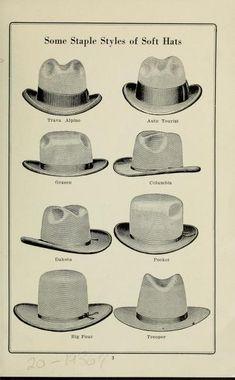 limpieza de un sombrero Cowboy Hat Styles, Cowboy Hats, Retro Outfits, Vintage Outfits, Felt Hat, Fashion History, Hats For Men, Men Dress, Mens Fashion