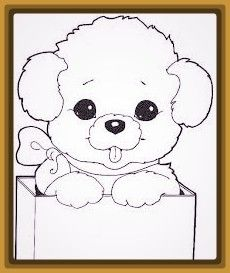 Resultado De Imagen Para Perritos Adorables Para Colorear