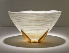 Tranquility Bowl from Pate de Verde glass by Penny Fuller