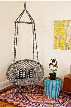 Boho Living Room Swing Chair - Urban Outfitters