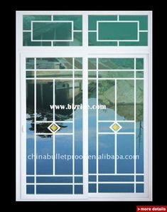 Decorative grills or mullions for windows for the home for Modern zen window grills design