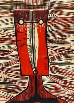 Cecil Skotnes, 1972: a portfolio of woodcuts