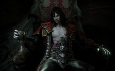 Image result for dracula on throne artwork