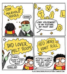 Others show a slightly incompetent Voldemort. | These Harry Potter Comics Will Have You Crying With Laughter