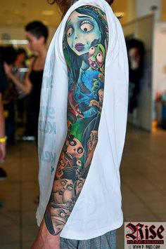 Corpse Bride - I have a good friend who wants something similar but with Alice In Wonderland instead (: