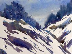 BluOltremare: Paesaggi invernali 5 / Winter landscapes 5