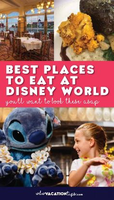 There are so many amazing restaurants across property it can be hard to pick which Disney World restaurants you want to eat at. You have more than 356 restaurants to pick between at Walt Disney World. In this article, we are just going to focus. Best Disney World Restaurants, Disney World Food, Disney World Planning, Walt Disney World Vacations, Disney Parks, Disney Travel, Disney World Tips And Tricks, Disney Tips, Disneyland Tips