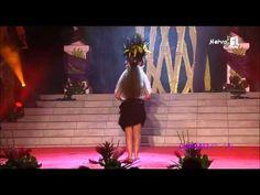 Moena Maiotui à Miss TAHITI 2013