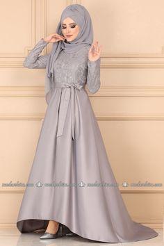 Tesettür Abiye - Tesettür Abiye Elbiseler ve Fiyatları Sayfa 7 Moslem Fashion, Goals, Collection, Dresses, Style, Vestidos, Swag, Muslim Fashion, Dress