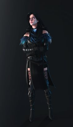 Yet another great model from the lovely MoogleOutFitters ! Gosh, I love the witcher ! Witcher 3 Yennefer, Witcher 3 Art, Yennefer Cosplay, Yennefer Of Vengerberg, The Witcher Story, The Witcher Books, The Witcher Game, The Witcher Wild Hunt, Beautiful Fantasy Art