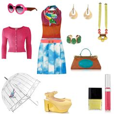 A fun and fabulous entry in the April Showers... fashion mission. #fashion #contest #outfit
