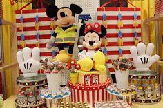Sweet Memories Parties Design: Mickey and Minnie's Workshop!