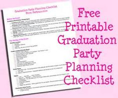 25 Graduation Ideas: Gifts, Food and Decoration Graduation party planning checklist. Graduation party planning made easy. The post 25 Graduation Ideas: Gifts, Food and Decoration appeared first on Jody Harris. Graduation Party Planning, College Graduation Parties, Graduation Celebration, Graduation Decorations, High School Graduation, Grad Parties, Graduate School, Graduation Gifts, Graduation 2015