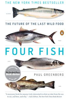 Writer and life-long fisherman Paul Greenberg takes us on a journey, examining the four fish that dominate our menus: salmon, sea bass, cod, and tuna. Investigating the forces that get fish to our dinner tables, Greenberg reveals our damaged relationship with the ocean and its inhabitants.