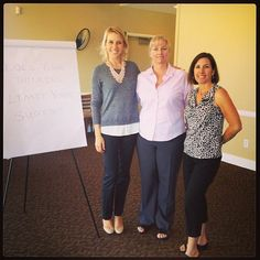AMAZING guest speaker Cassie with Productive Learning, plus members Marcia Depew and Amy Blume! #businesstips #businessreferrals #businessnetworking #riverwalkgolf #productivelearning #networking #breakfastmeetings