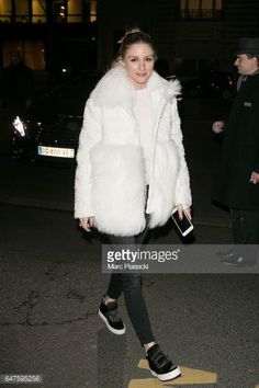 Olivia Palermo is seen on March 3 2017 in Paris France