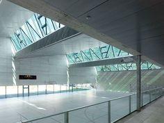 meyer architecture, savioz fabrizzi architectes — Salle de sport triple