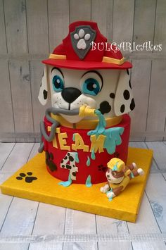Paw Patrol Cake Toppers, Paw Patrol Birthday Cake, Themed Cakes, 4th Birthday, No Bake Cake, Toy Chest, Cake Decorating, Birthdays, Kids